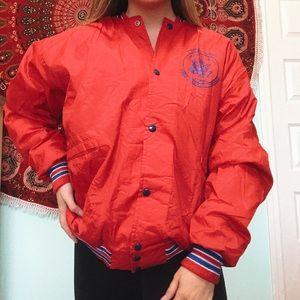 COPY - Air Force Sporty Vintage Windbreaker Jacket